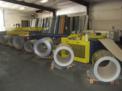 sheet metal and manufactured metal