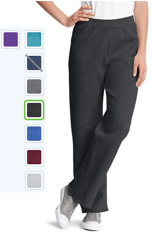 Hanes Women`s Fleece Sweatpants