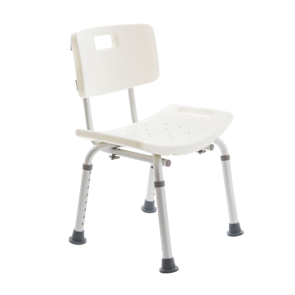 Spring Chair Silver Spring Shower Chair With Back