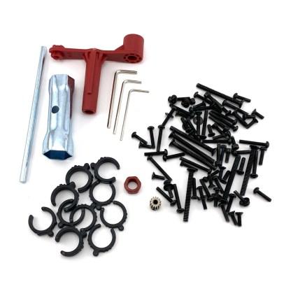 Arrma Typhon V3 4X4 Mega 14t Pinion Gear, Hardware Screw Set, Factory Tool Kit