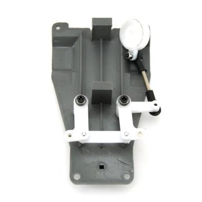Traxxas Rustler 2WD VXL Steering Bellcrank Assembly Servo Saver Upper Chassis
