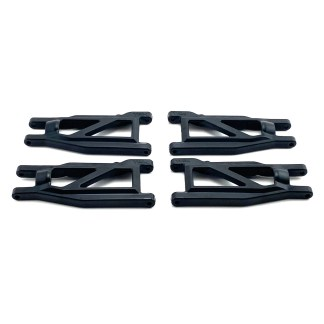 Traxxas Rustler 4X4 VXL F&R Lower Suspension Arm Set Heavy Duty 3655R