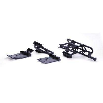 Arrma Senton V3 4x4 Mega F/R Bumper Set w/ Chassis Skid Plates