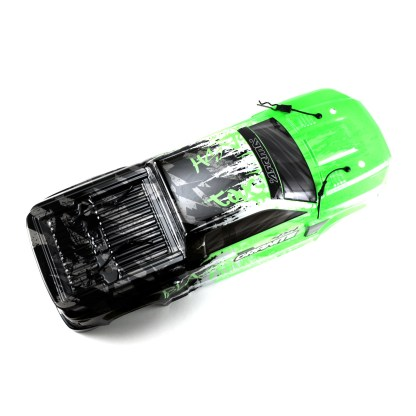 Arrma Granite V3 4X4 3S BLX Body Shell Green/Black Painted Decaled Trimmed