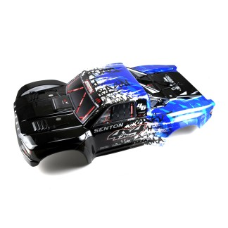Arrma Senton V3 4X4 3S BLX Painted Decaled Trimmed Body Shell (Blue/Black)