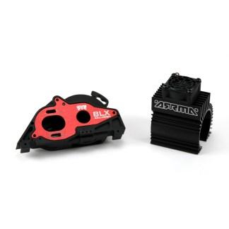 Arrma Senton V3 4X4 3S BLX Aluminum Slider Motor Mount w/ Heat Sink & Fan