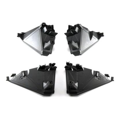 Traxxas 1/10 Maxx Front & Rear Shock Tower (Left & Right Halves)