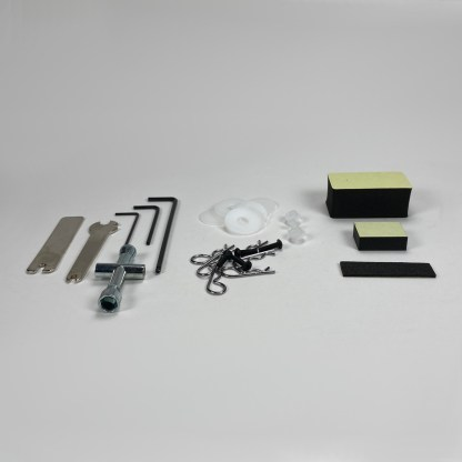 Traxxas Stampede 2WD VXL Body Hardware, Foam Spacers, Factory Tools