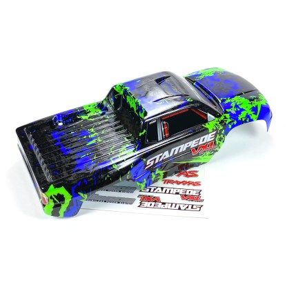 Traxxas Stampede 2WD VXL Body Shell (Blue/Green)