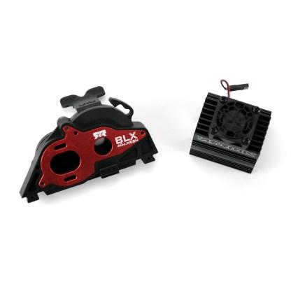 Arrma Big Rock 3S BLX 4X4 V3 Aluminum Slider Motor Mount w/ Heat Sink & Fan
