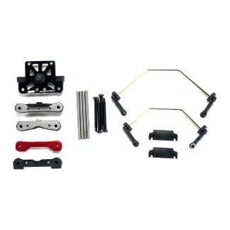 Arrma Typhon 6S BLX V5 Top Plate, Hinge Pins, Suspension Mounts, Sway Bars