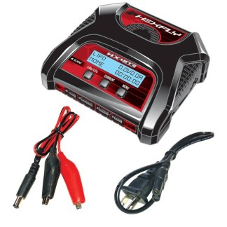 Redcat Racing Hexfly HX-403 Lipo/LiFe Battery Charger Dual Port 2S/3S/4S