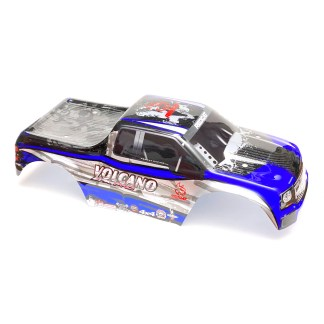 Redcat Racing Volcano EPX PRO Body Shell (Blue/Silver)