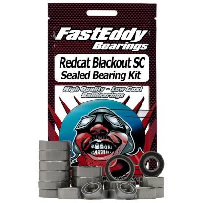 Recat Blackout SC FastEddy Sealed Bearing Kit (21 pcs) (TFE4484)