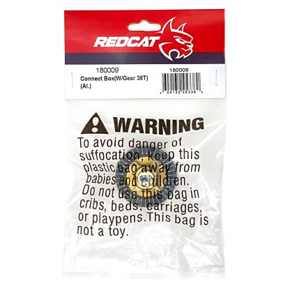 Redcat Racing Aluminum Connect Box w/ 38T Gear Everest 10/Gen7 Pro/Sport 18009