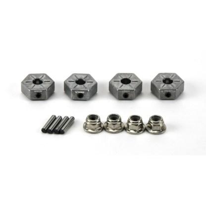 Arrma Vorteks 3S BLX 4X4 Metal 14mm Wheel Hex w/ Wheel Nuts