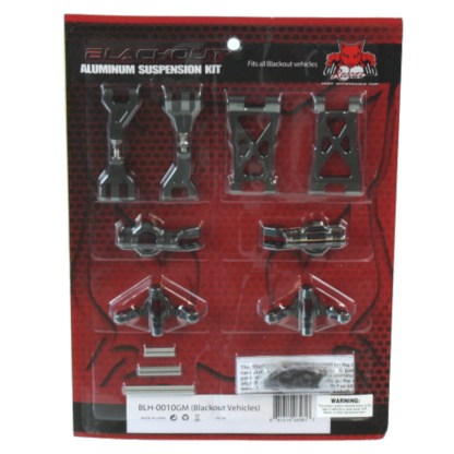 Redcat Racing Blackout SC/XBE/XTE Aluminum Hop Up Kit BLH-0010GM