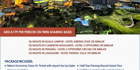 15 days Malaysia Tour Package