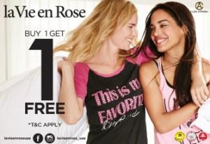 La Vie en Rose Offer