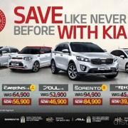 Kia Save Like Never Before Offers