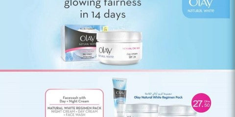 Olay Natural White Regimen Pack