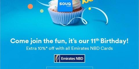 Souq 11th Birthday Offers