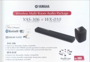 YAMAHA Wireless Multi Room Audio Package