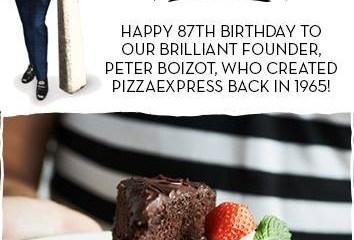 PizzaExpress Birthday Celebration Treat