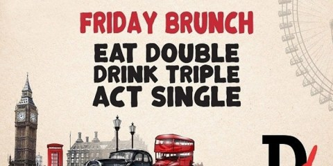 Double Decker Friday Brunch