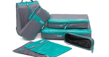 7-Piece Travel Bags Organiser Set