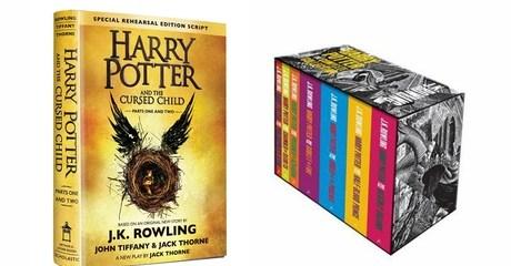 Harry Potter Books Set