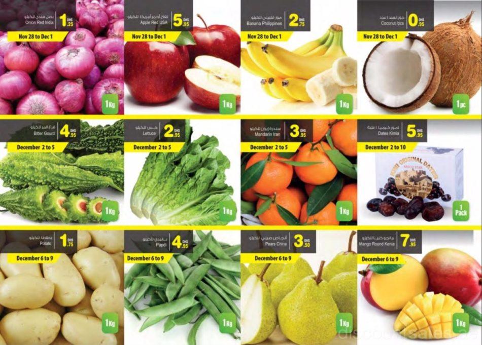 Fresh Fruits & Vegetables Sale