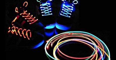 3 pairs of LED Light-Up Shoelaces