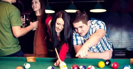 Billiards or PlayStation