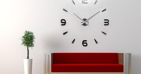 DIY Mirror Wall Clocks