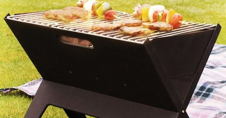 Foldable and Portable BBQ