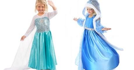 Girls' Ice Princess Dresses
