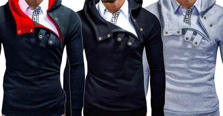 Men's Hooded Pullover