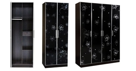 Black Oak Wardrobes