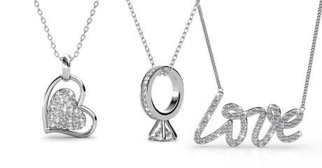 Crystals from Swarovski Necklaces
