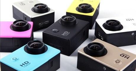 Waterproof HD Digital Video Camera with Wi-Fi