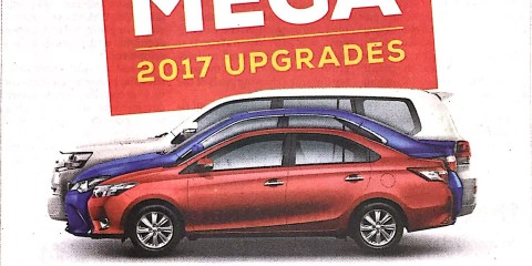 Toyota Mega 2017 Upgrades
