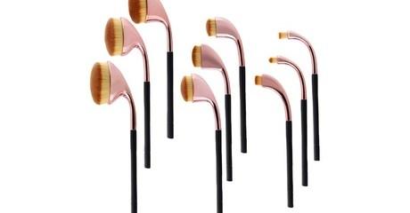 Golf Make-Up Brush Set