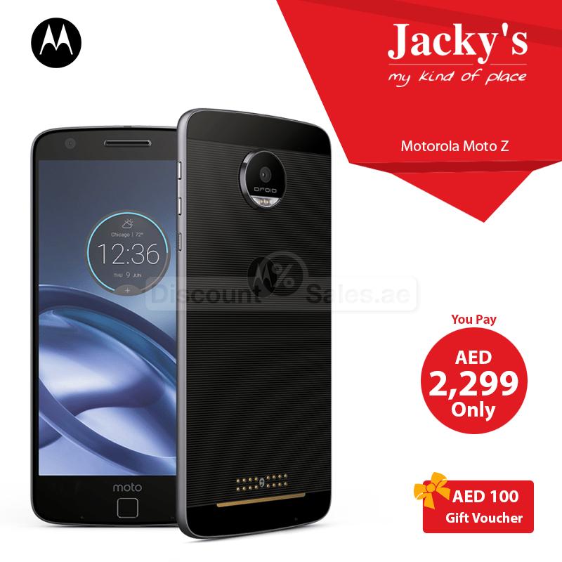 Motorola Moto Z Play smartphone pack Special Offer