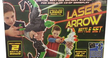 Two-Pack of Laser Arrow Battle Bows