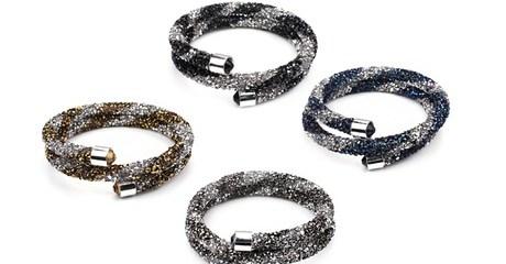 Two-Tone Wrap Bracelet