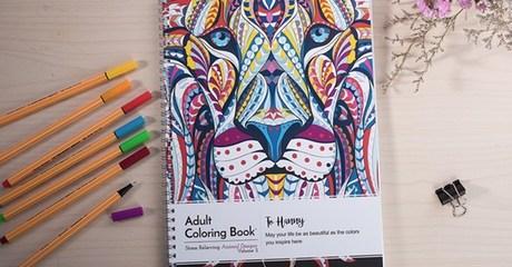 Personalized Anti-Stress Colouring Book