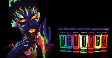 Paint Glow Face and Body Paints