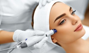 Microdermabrasion and Hydrafacial