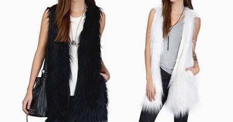 Faux Fur Women's Gilet